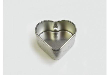 T3124 - Drawn Heart Shaped Tin