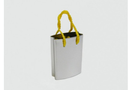 T3148 - Small Shopping Bag Shaped Tin