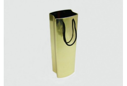 T3183 - Wine Shopping Bag Shaped Tin